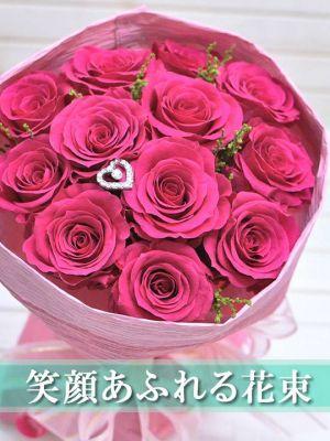プロポーズ ピンク バラ 花束