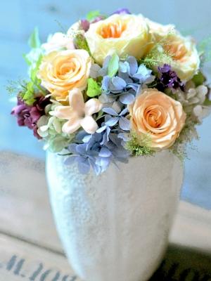 開院お祝い花 プリザーブドフラワー