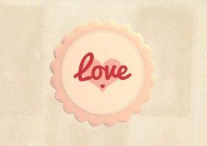 LOVEのマーク