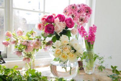新鮮な生花を多数ご用意してます