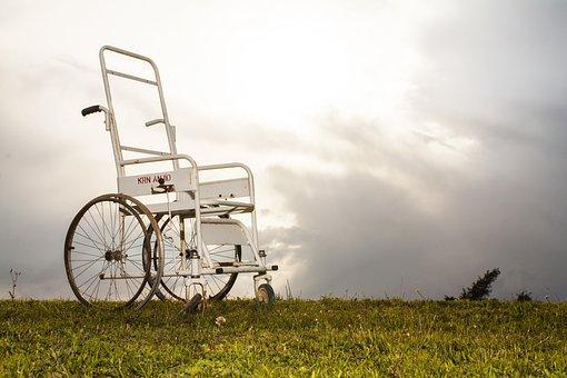 車いすで高原にお出かけ