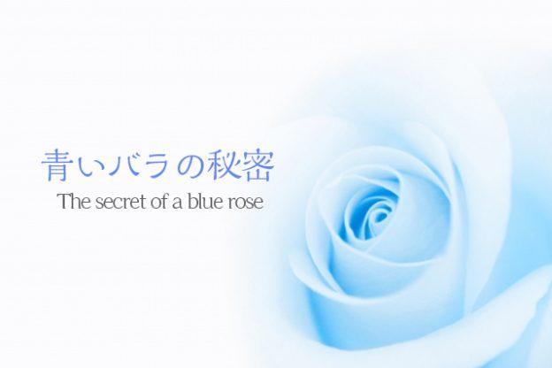 青いバラの秘密バナー