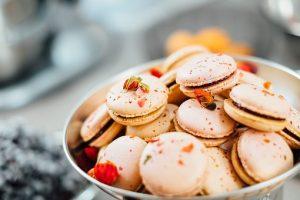 洋菓子のマカロンの画像