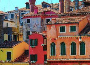 イタリアの街並み