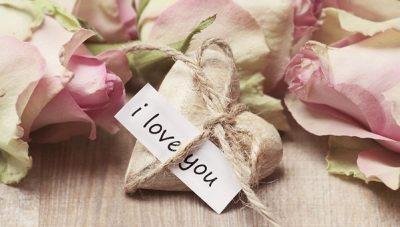 I love you のメッセージカード