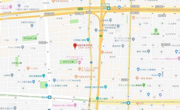 フルールドゥマカロンの所在地の地図
