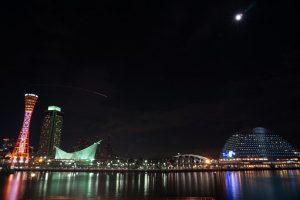 神戸のイルミネーション画像