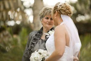 結婚式新婦