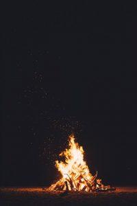 迎え火 送り火